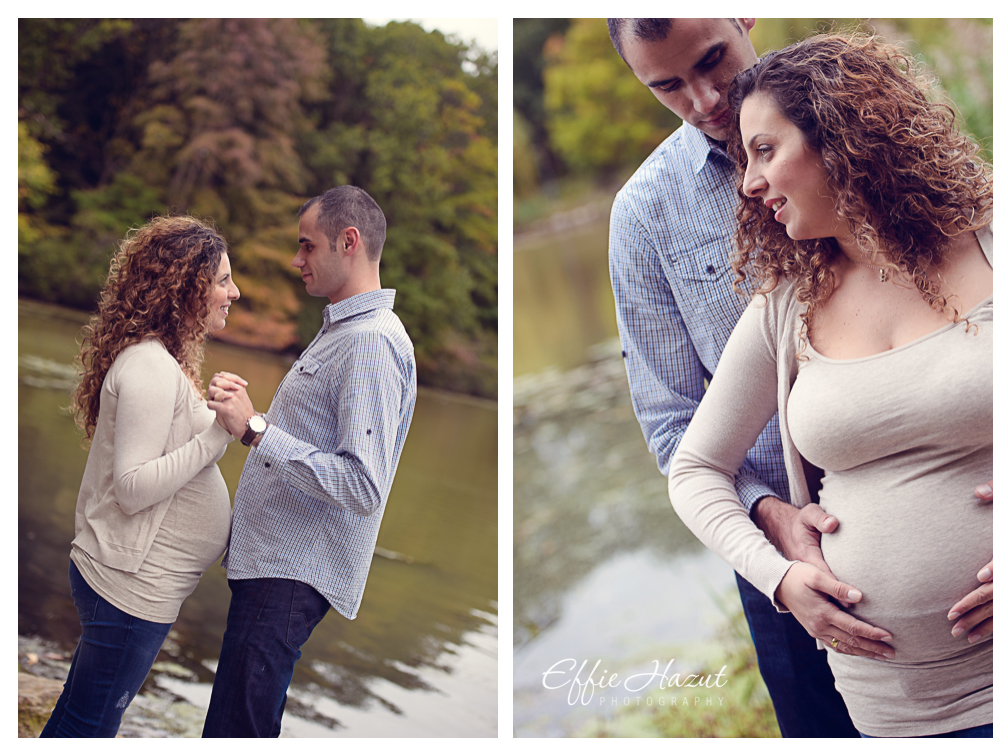 Maternity Photography by Effie Hazut, Queens NY, NYC, Oakland Lake, Maternity photographer NYC
