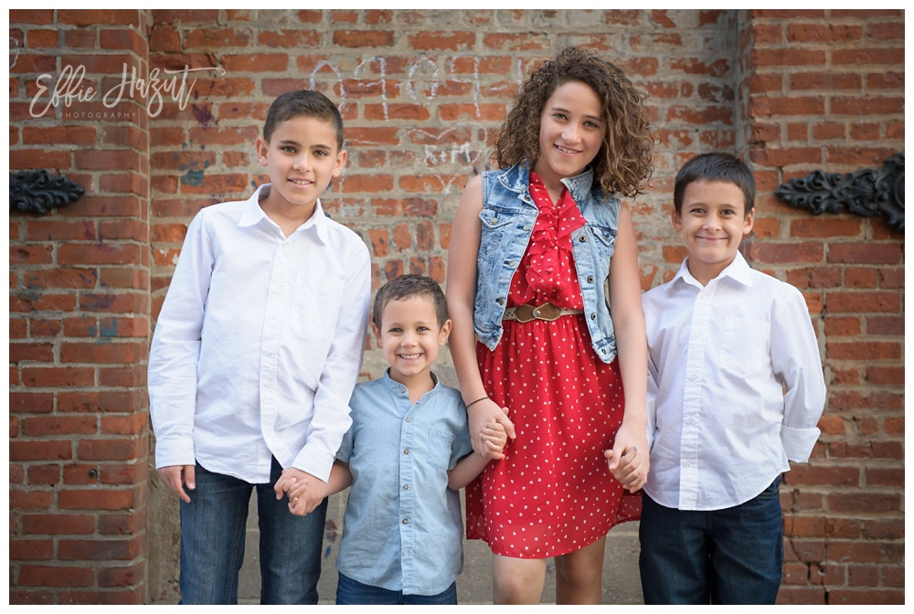 Effie hazut is a family children lifestyle photographer who specializes in photographing family children maternity bar mitzvah portraits and bat